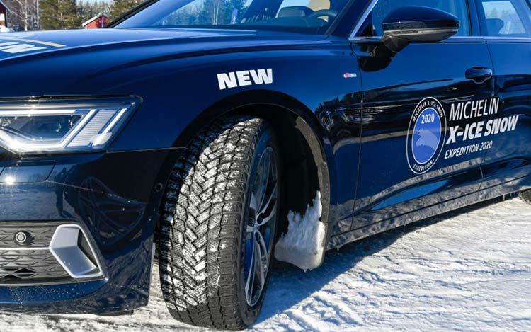 Состоялась премьера новых зимних шин Michelin X-ice Snow