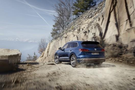 Volkswagen Touareg укомплектуют шинами Goodyear