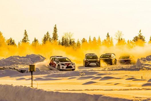 Cooper подготовила шины для ледового фестиваля RallyX on Ice