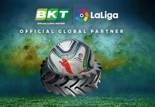 BKT стала спонсором «ЛаЛиги»