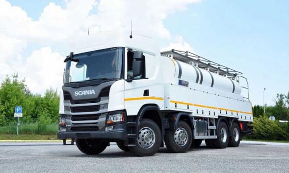 Continental поставляет шины для Scania