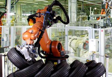 Изготовлением китайских шин займутся роботы
