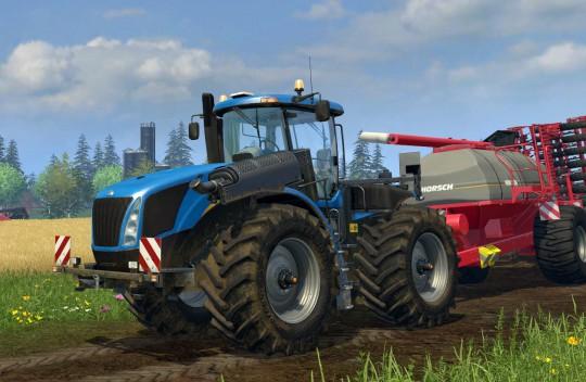 Шины Trelleborg появятся в новом симуляторе фермы