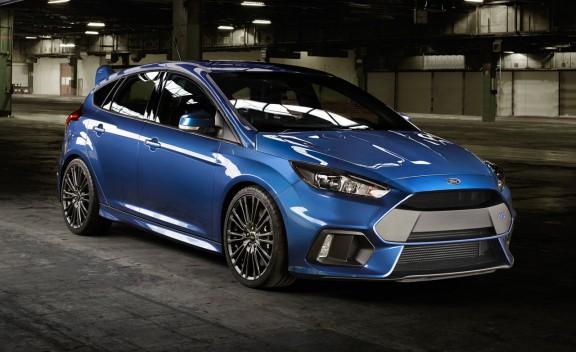 Для Ford Focus RS 2016 выбраны шины Michelin