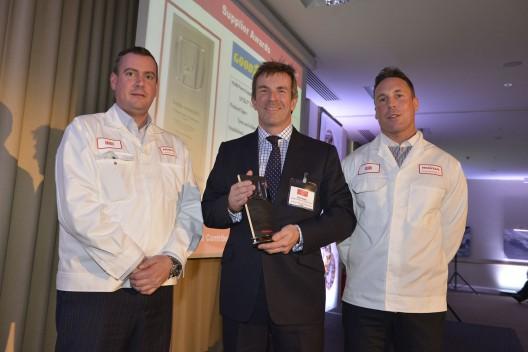 Компания Goodyear Dunlop получила награду от Honda
