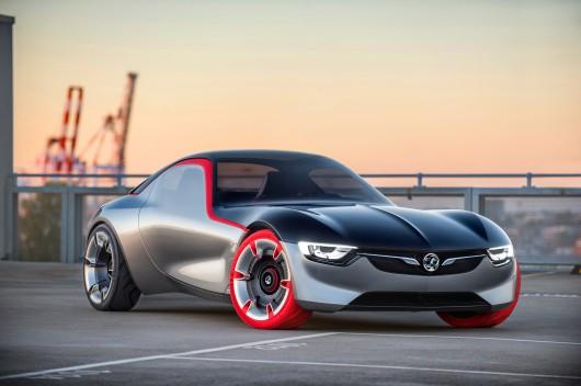 Концептуальный Opel GT «обулся» в красные шины