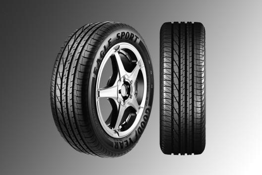 Goodyear представляет на украинском рынке летние шины Eagle Sport