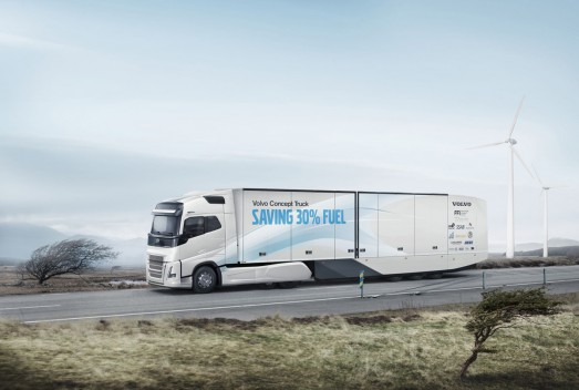 Continental выпускает шины для концепта грузовика Volvo