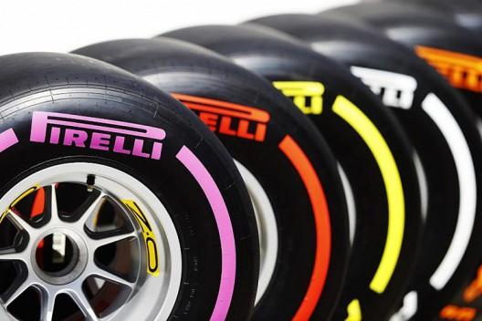 Pirelli может увеличить количество типов шин в Formula 1