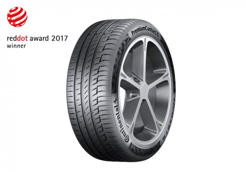 Летняя шина PremiumContact 6 от Continental получила две всемирно известные награды