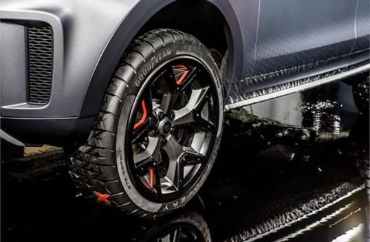 Goodyear подготовила концепт-шины для Land Rover Discovery SVX