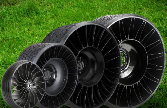 Michelin расширила линейку безвоздушных колес Tweel