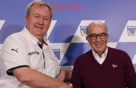 Michelin продлила контракт с MotoGP