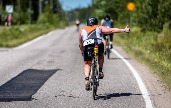 Nokian Tyres – партнер первого финского соревнования по триатлону