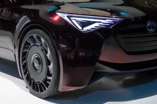 Toyota присматривается к безвоздушным шинам