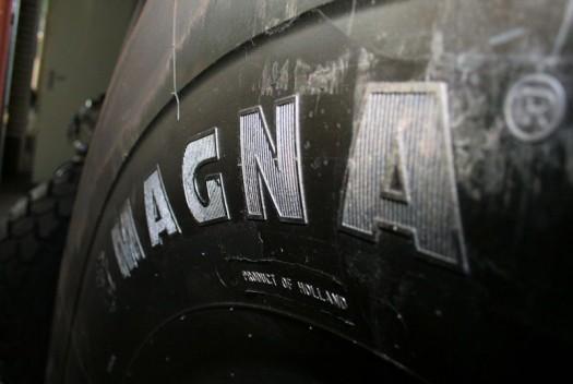 Шины Magna будут производиться в Европе