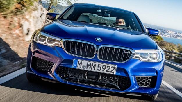 Шины Pirelli одобрены для BMW M5