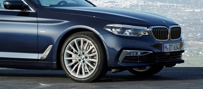 BMW рекомендует шины Goodyear и Dunlop для нового седана и универсала 5-Series