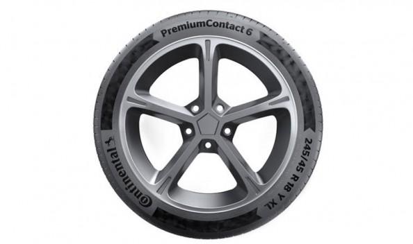 Continental PremiumContact 6 смогут улучшать акустический комфорт