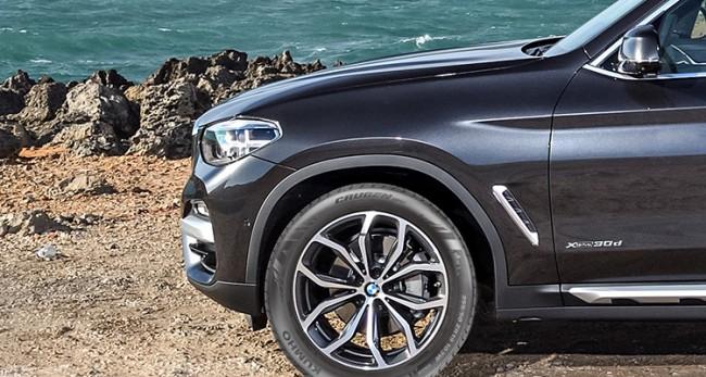 Kumho укомплектовала BMW X3