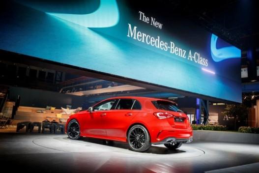 Bridgestone оснастит шинами Mercedes A-Class